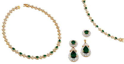 Jacqueline Kennedy Matching First Lady Jewelry Sets