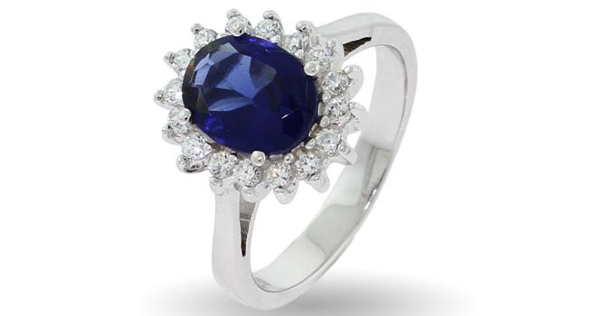 Princess Diana Jewelry : Kate Petite Engagement Ring